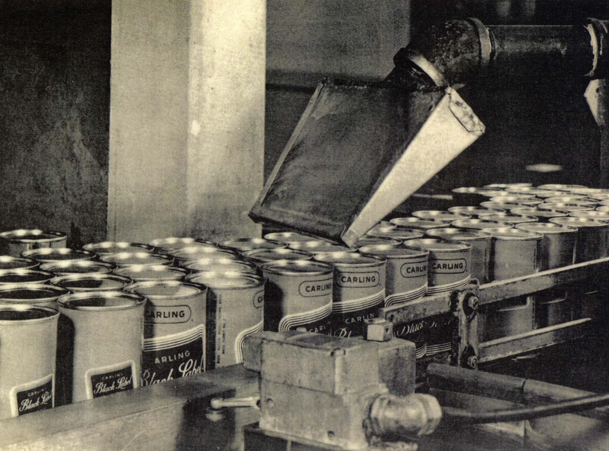 Ein frühes Luftklingen-System